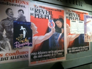 Propaganda posters during Vichy France